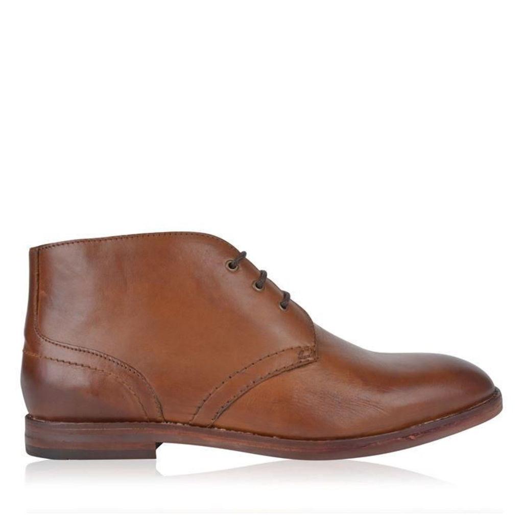 HUDSON LONDON Houghton Leather Desert Boots