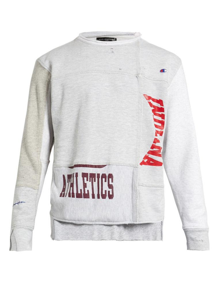 Nash athletics-print cotton-jersey sweatshirt