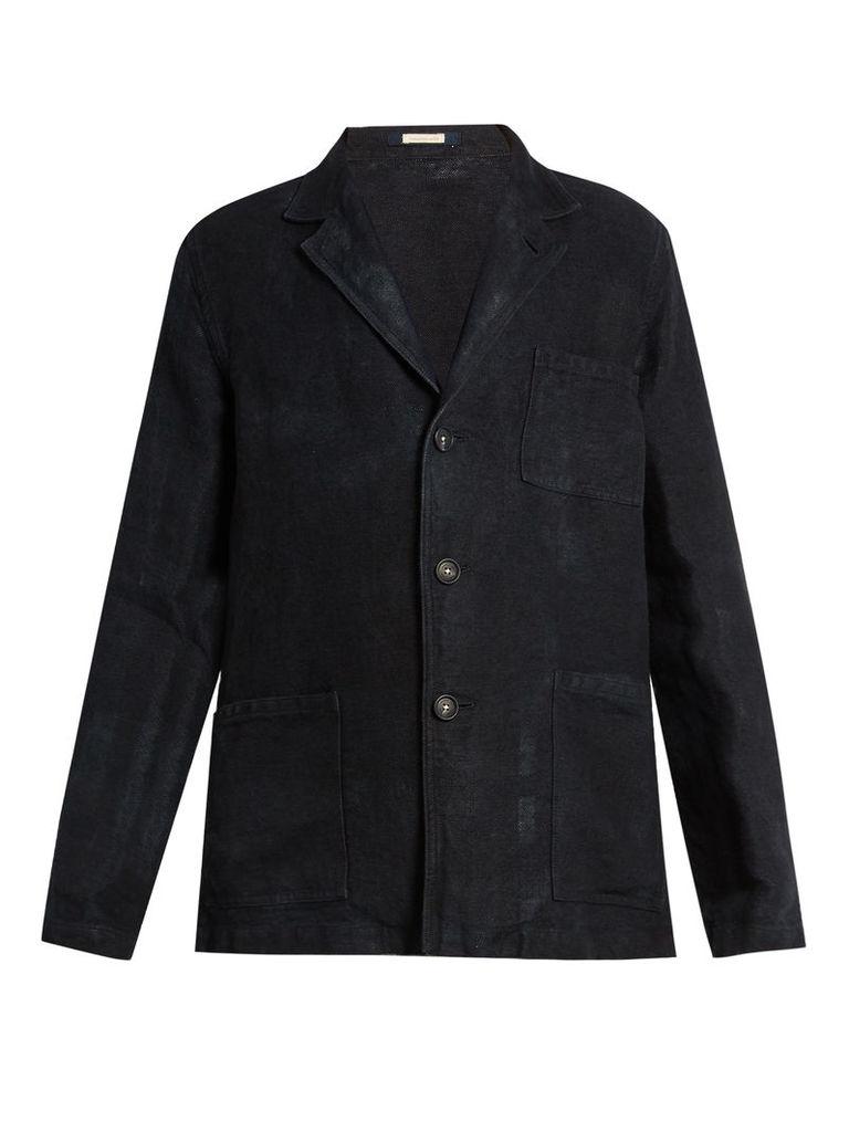 Baglietto single-breasted linen blazer