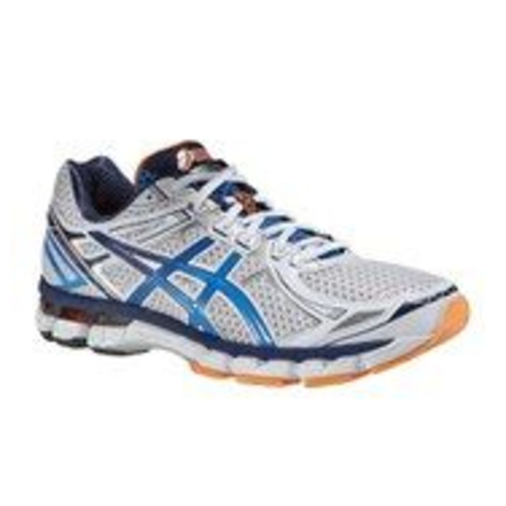 Asics Men's Gt-2000 2 Trainers - White/French Blue/Flash Orange - 11 -Damaged Packaging