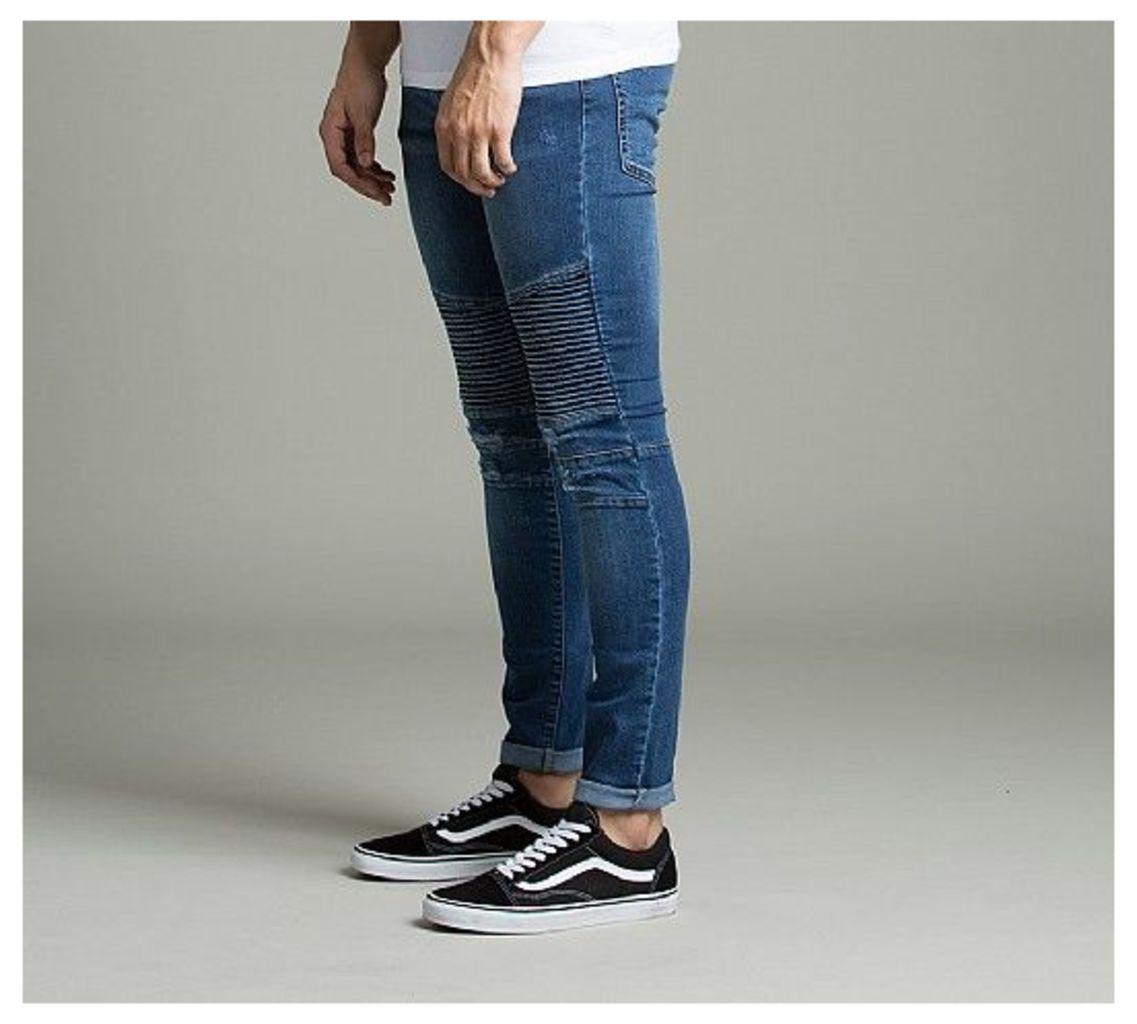 Etna Skinny Biker Jeans
