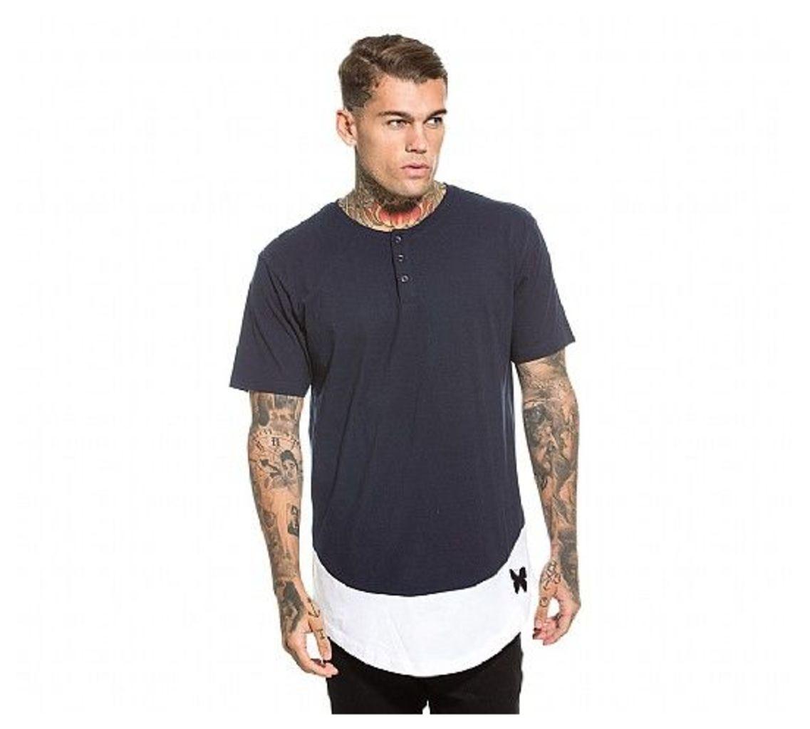 Button Basic T-Shirt