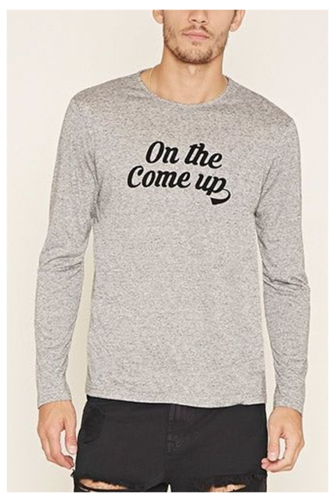 Heathered Come Up Graphic Tee
