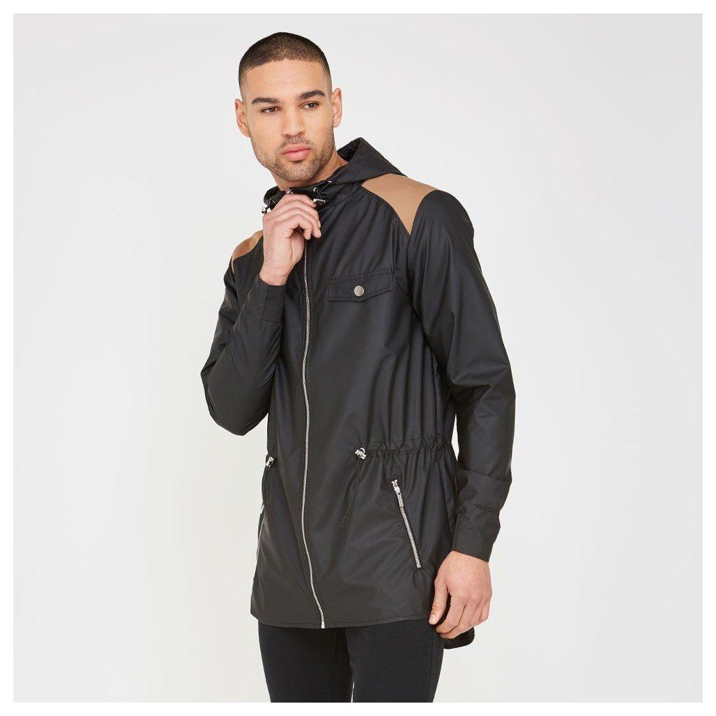 Maniere De Voir; Lightweight Zip-Up Jacket - Black