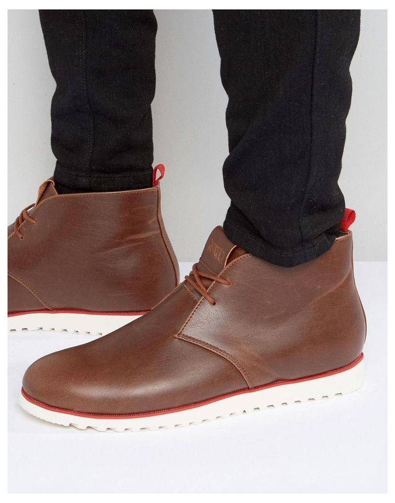 D-Struct Chukka Boots - Brown