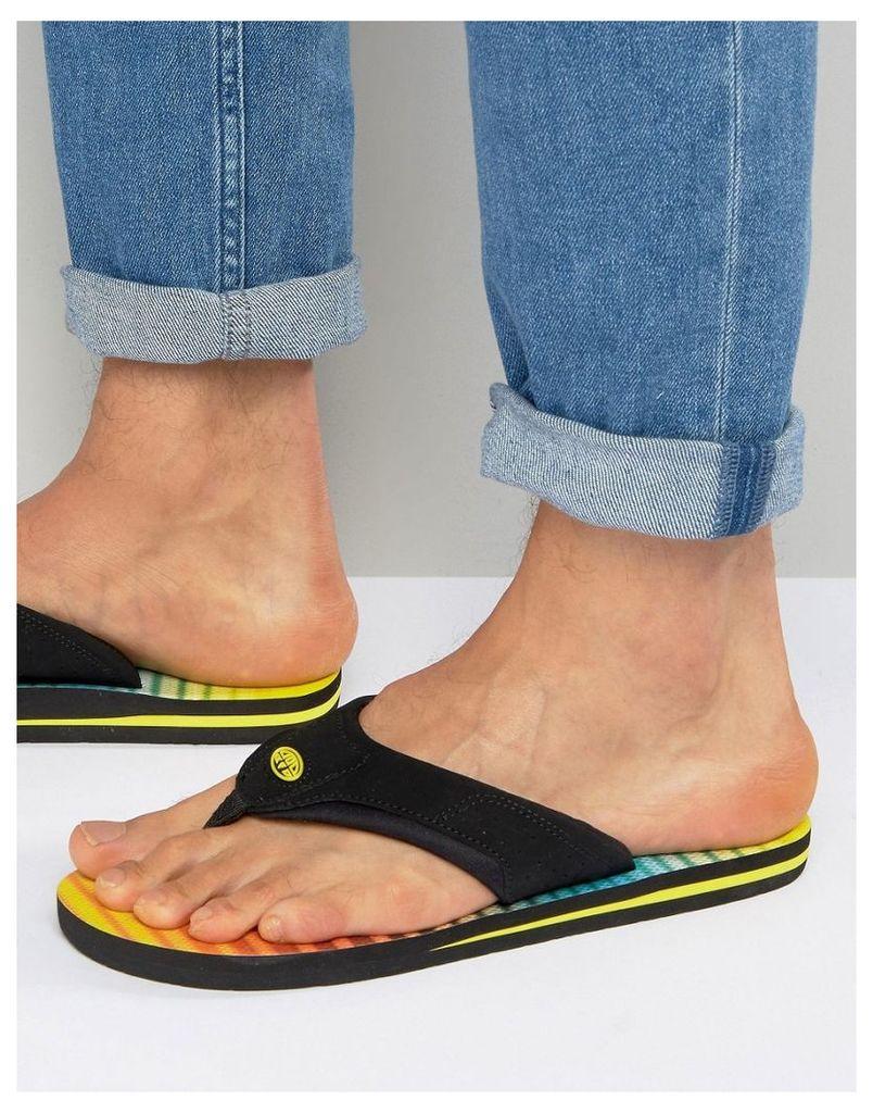 Animal Jekyl Flip Flops - Yellow