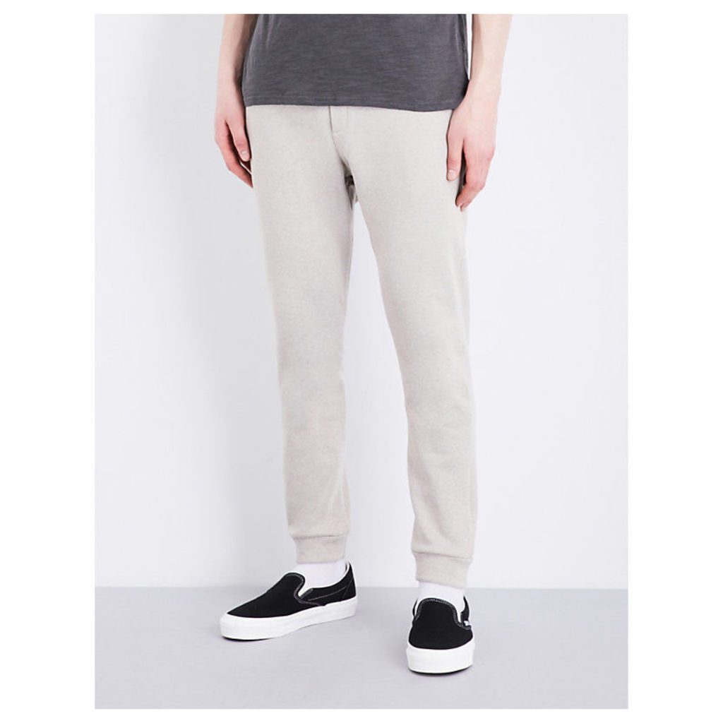Skinny relaxed-fit cotton-blend jogging bottoms