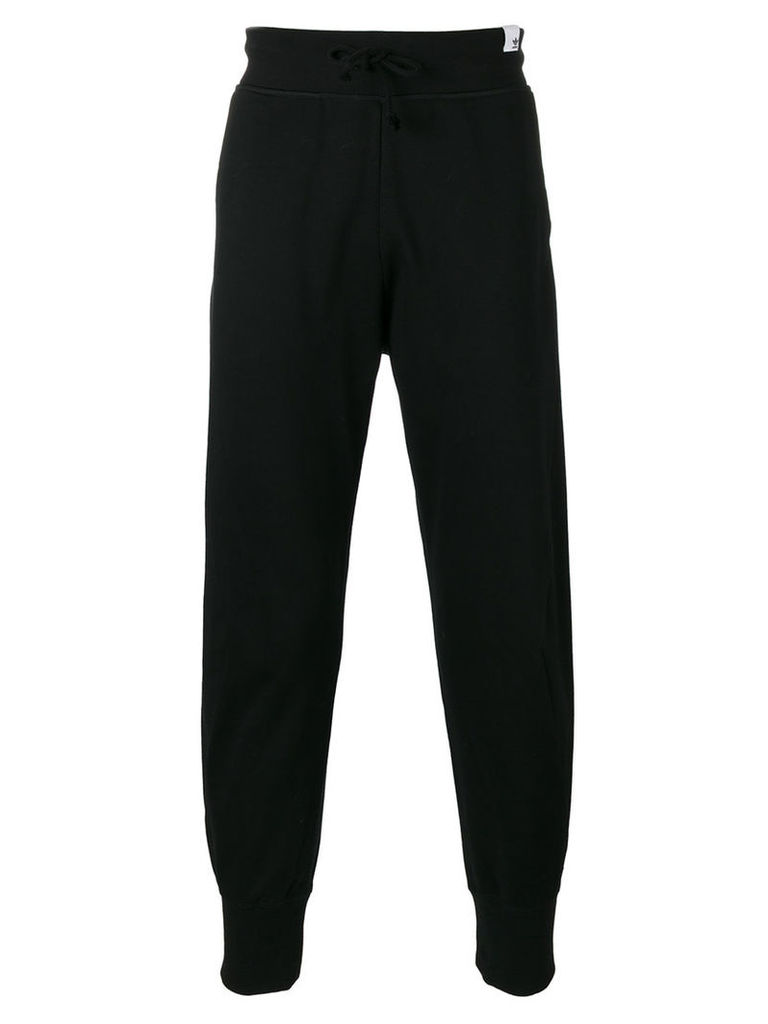 Adidas tapered sweatpants, Men's, Size: Small, Black