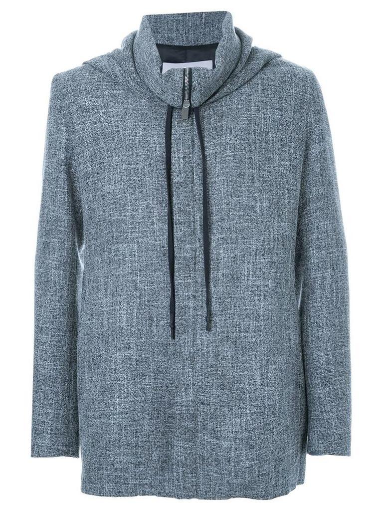 Strateas Carlucci hooded brace jacket, Men's, Size: Medium, Grey