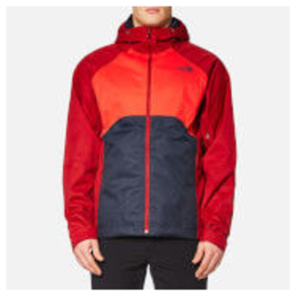 The North Face Men's Sequence Jacket - Urban Navy/High Risk Red/Cardinal Red - XL