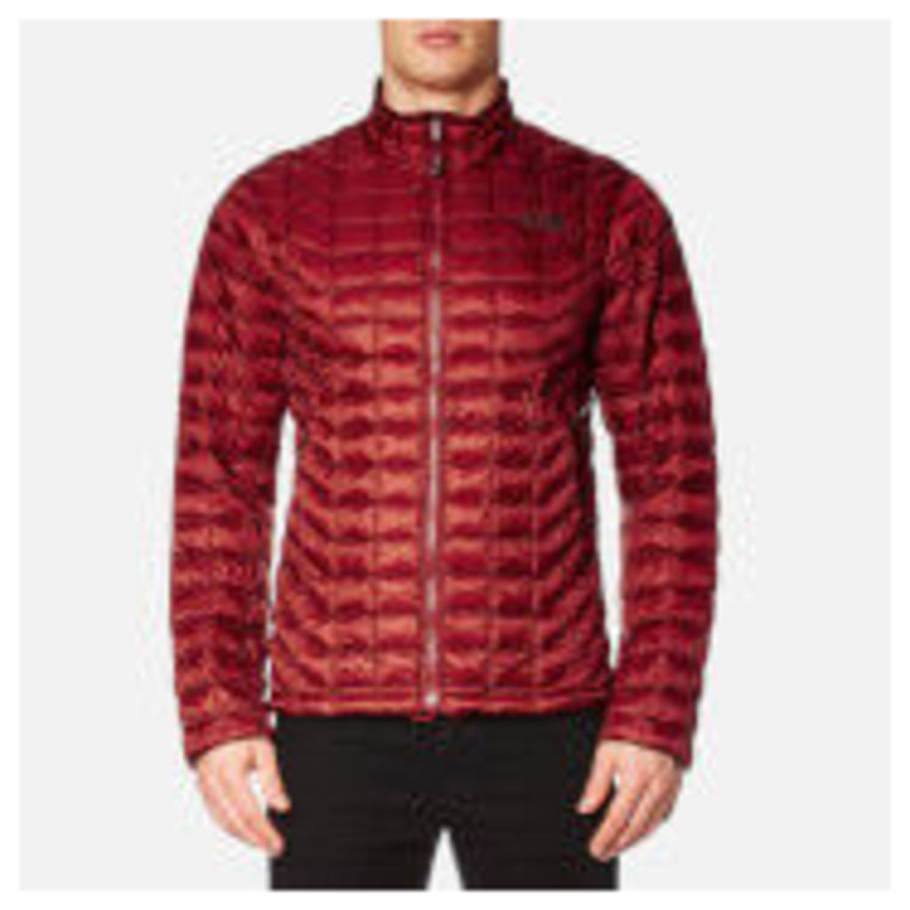 The North Face Men's Thermoball Full Zip Jacket - Cardinal Red - XXL