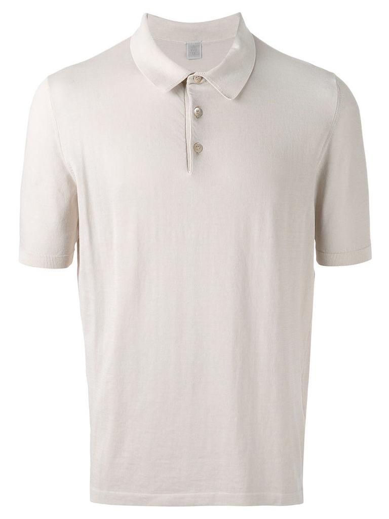 Eleventy classic polo shirt, Men's, Size: Large, Nude/Neutrals