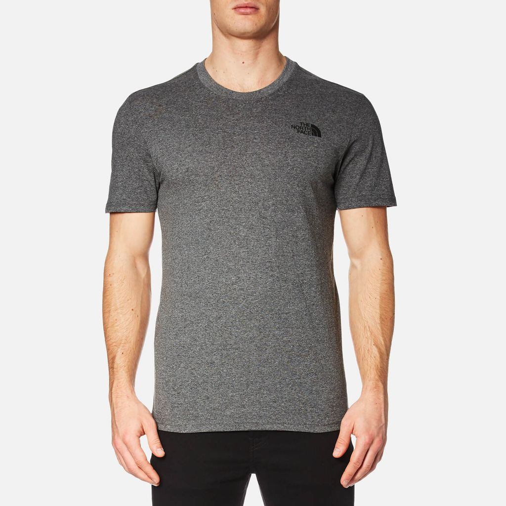 The North Face Men's Simple Dome T-Shirt - TNF Medium Grey - XXL