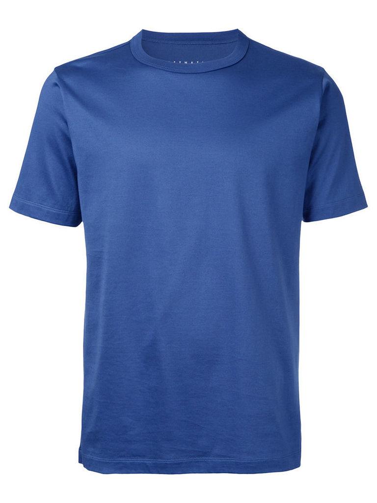 Estnation crew neck T-shirt, Men's, Size: Large, Blue