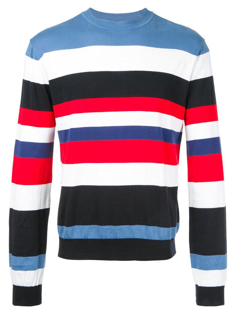Christian Dada striped knit sweater, Men's, Size: 48