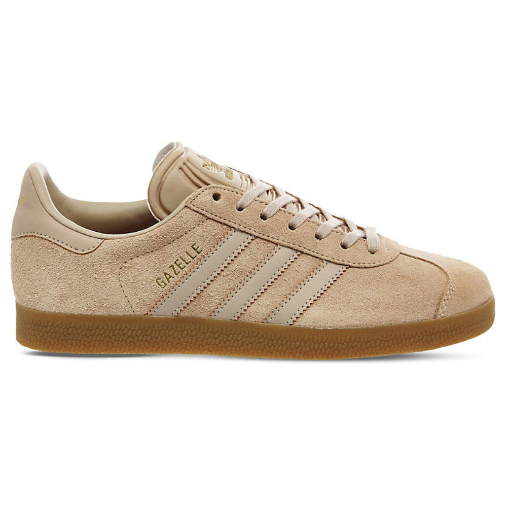 Adidas Gazelle suede trainers, Mens, Size: 8, Clay brown gum