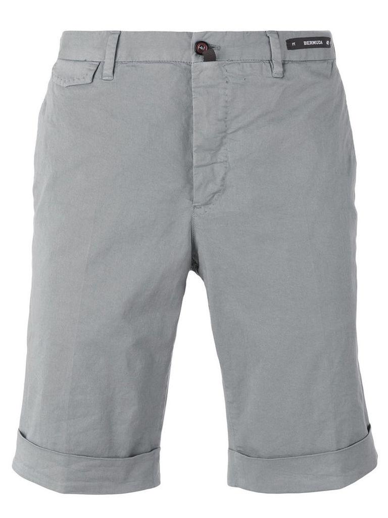 Pt01 chino shorts, Men's, Size: 56, Grey