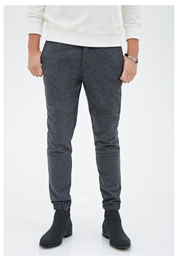 Slim Fit Paneled Joggers
