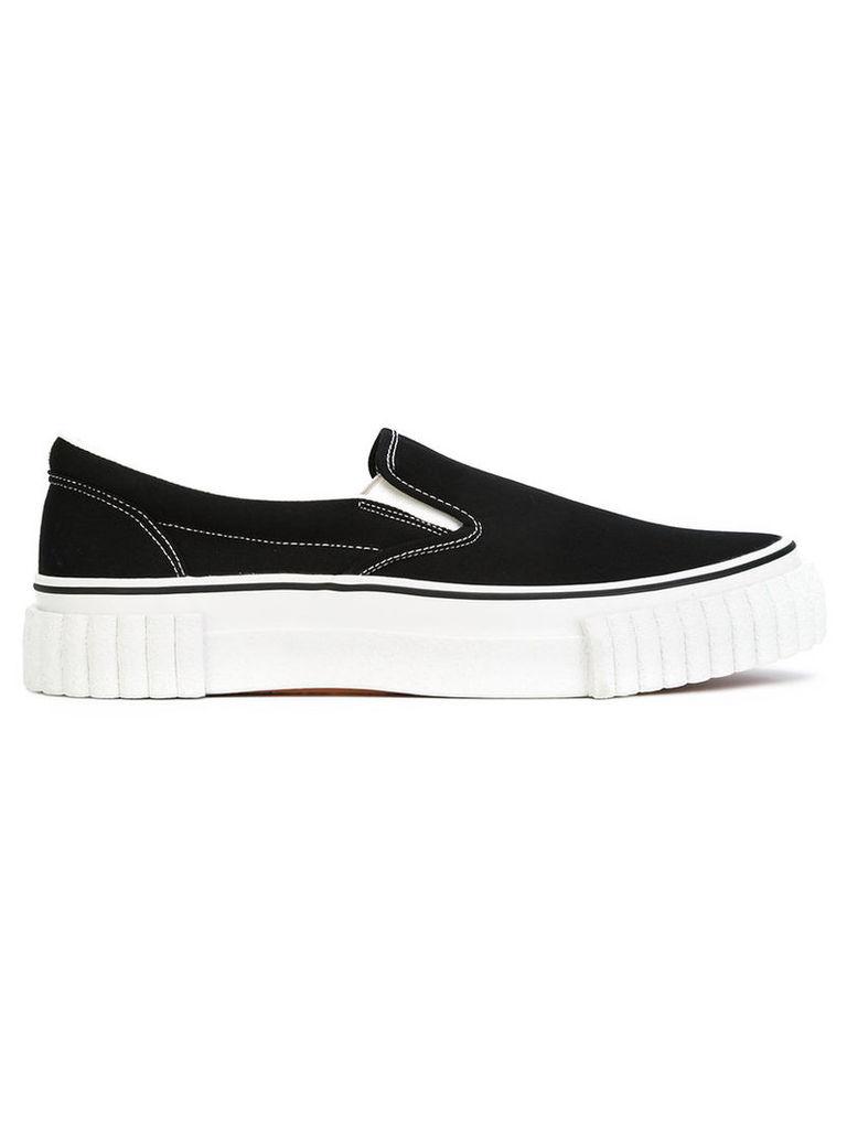 Ganryu slip-on sneakers, Men's, Size: 41, Black