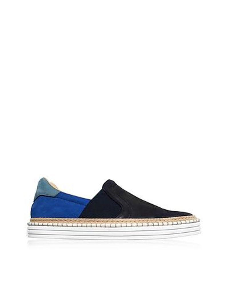 Hogan - R260 Color Block Nubuck Slip-on Men's Sneakers