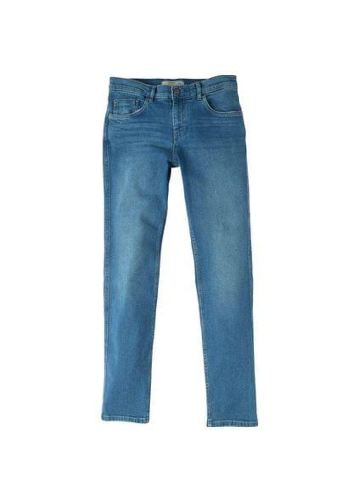 Skinny medium-wash Tim jeans