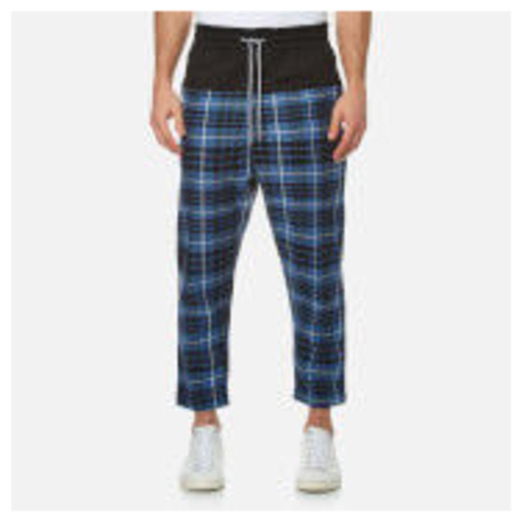Vivienne Westwood Anglomania Men's Truck Samurai Trousers - Tartan Blue/Black - EU 50/L