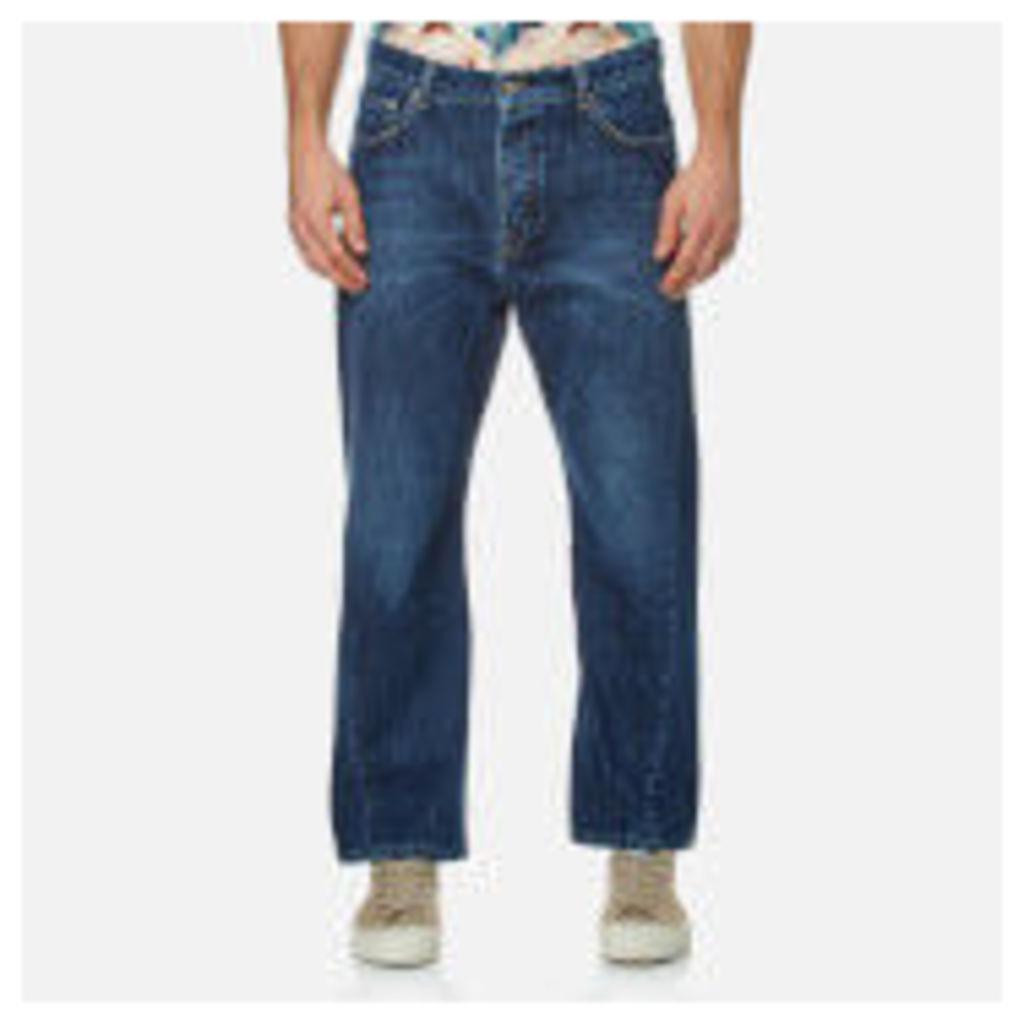 KENZO Men's Twist Seam Wrap Jeans - Navy - W33