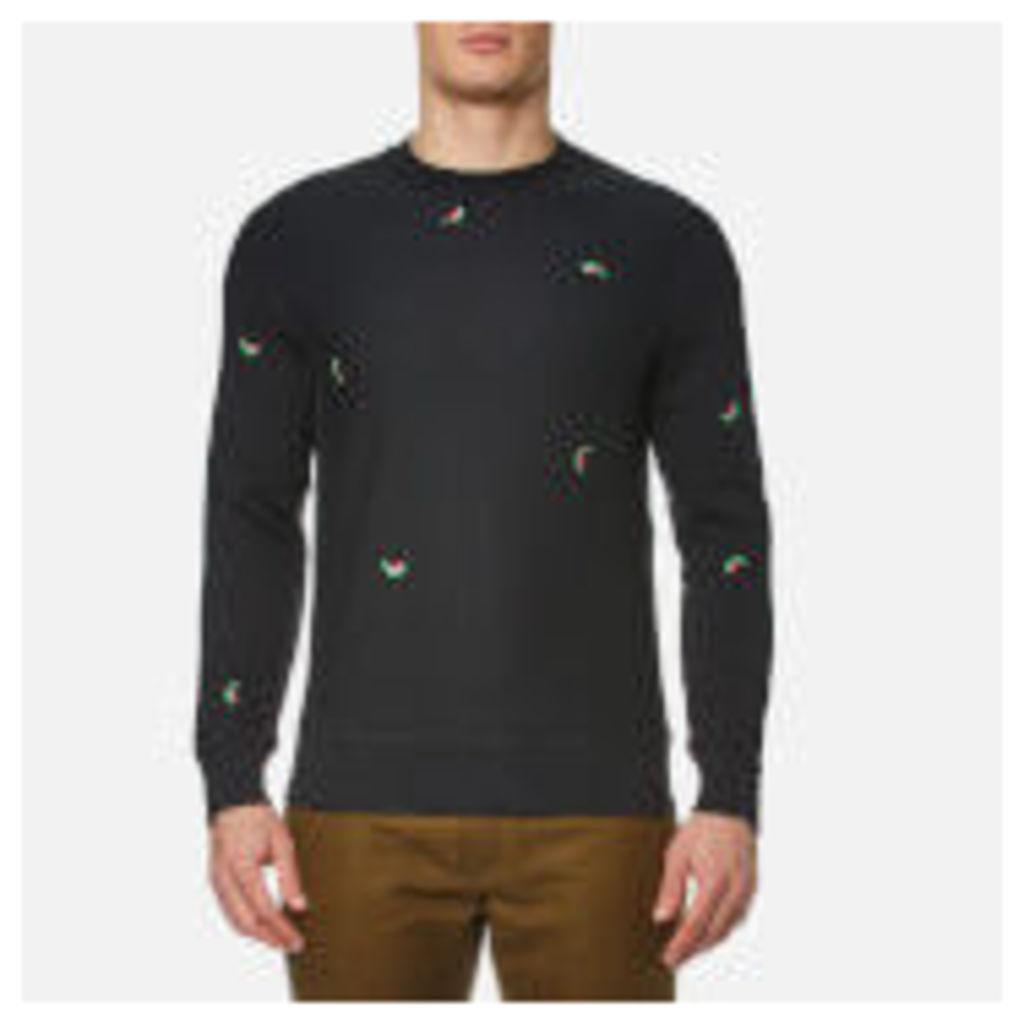 PS by Paul Smith Men's Melon Long Sleeve Sweatshirt - Black - S