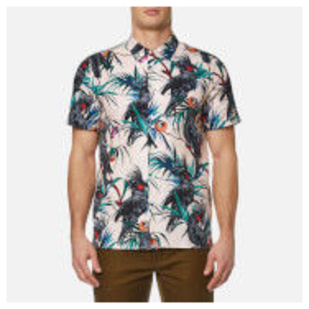 PS by Paul Smith Men's Short Sleeve Printed Shirt - Multi - XXL