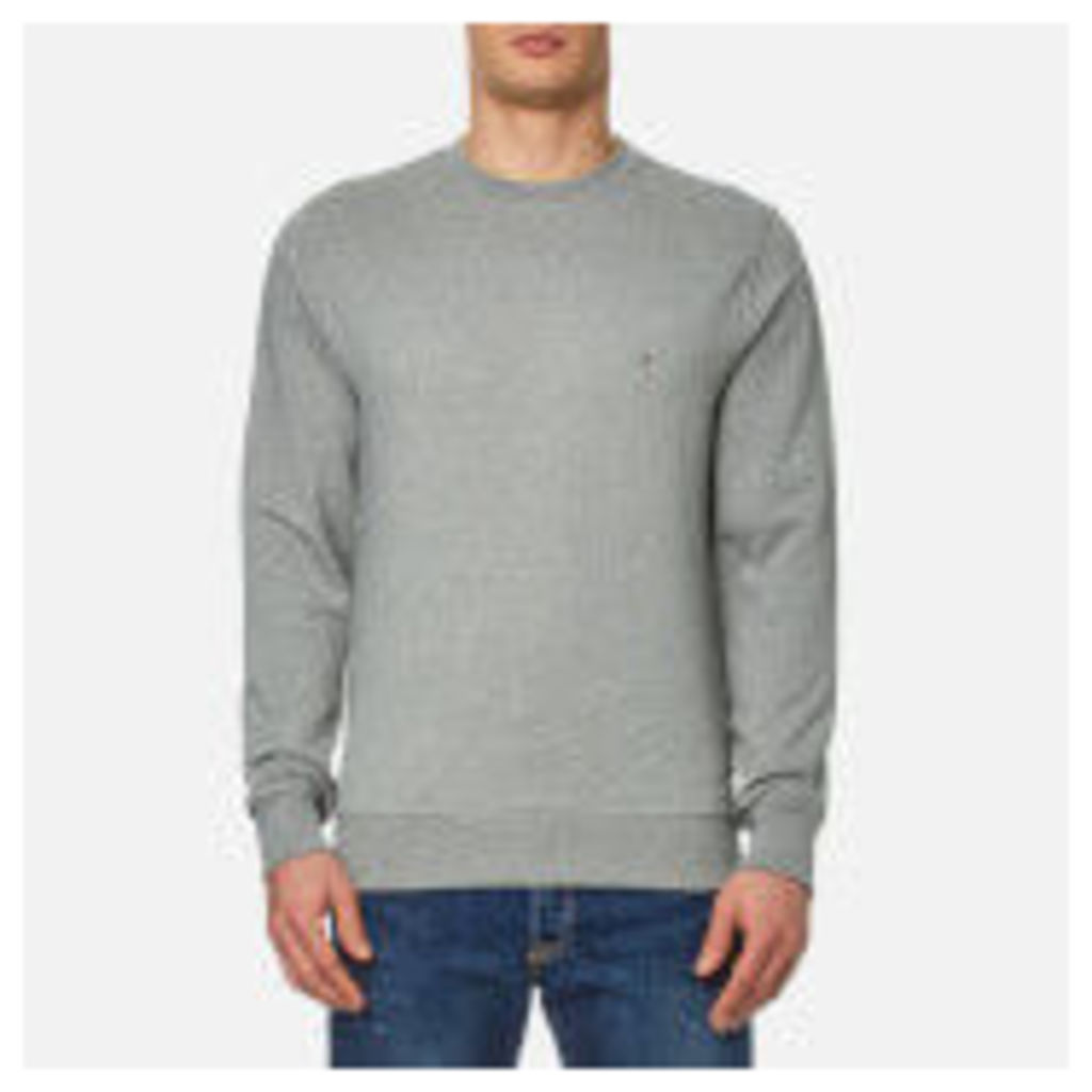 Tommy Hilfiger Men's Basic Crew Neck Sweatshirt - Cloud Heather - XL