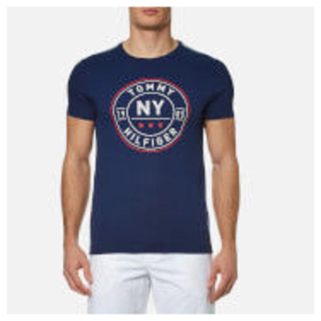 Tommy Hilfiger Men's Stan Crew Neck T-Shirt - Midnight - XXL