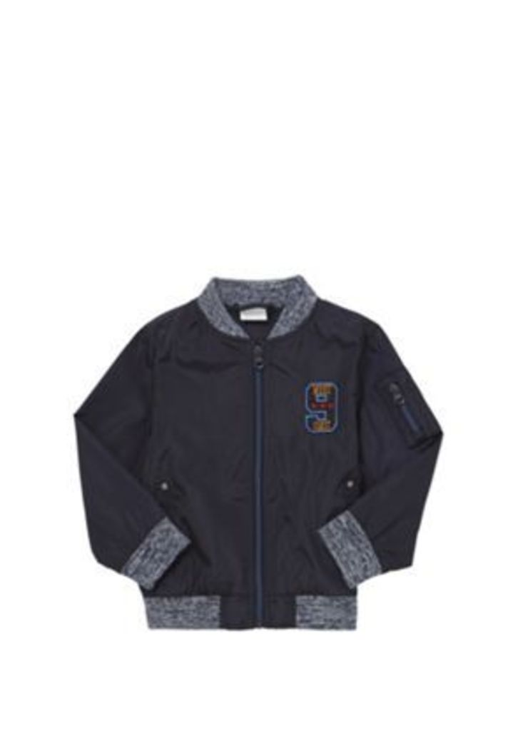 F&F Embroidered Badge Bomber Jacket, Men's, Size: 3-4 yrs