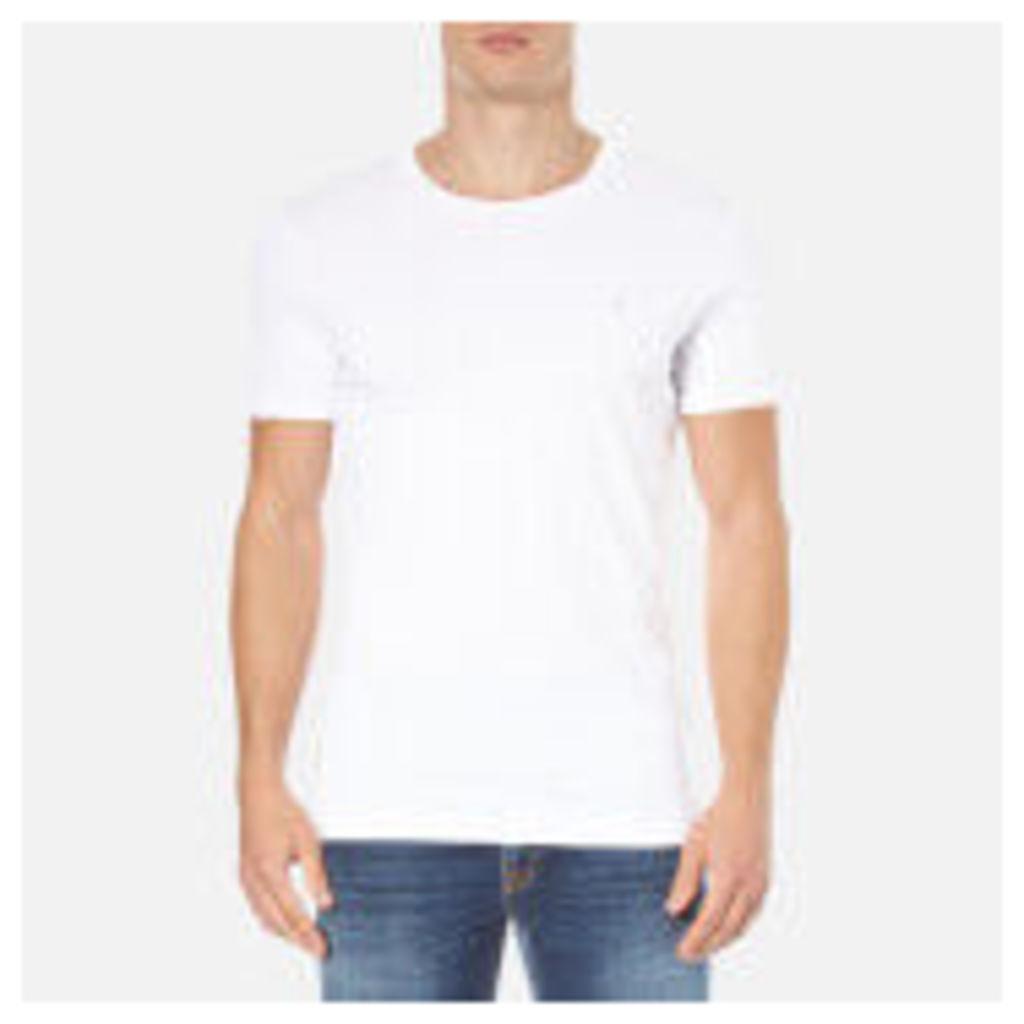 Calvin Klein Men's Bron T-Shirt - Bright White - XXL