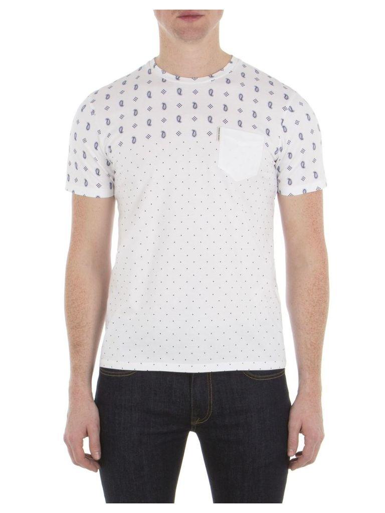 Pattern Mix T-Shirt XXS A47 Bright White Mar
