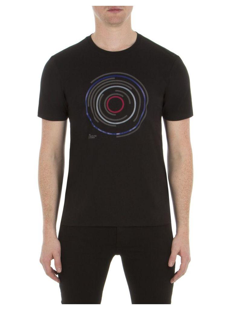 Target Record T-Shirt Med TBL True Black