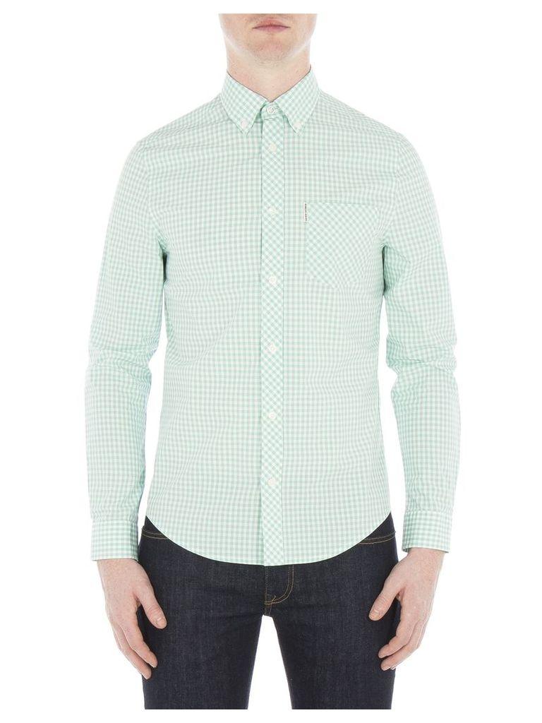 Long Sleeve Core Gingham Shirt XXL 183 Mint