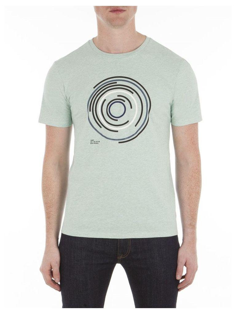 Target Record T-Shirt XXL 879 Mint Marl