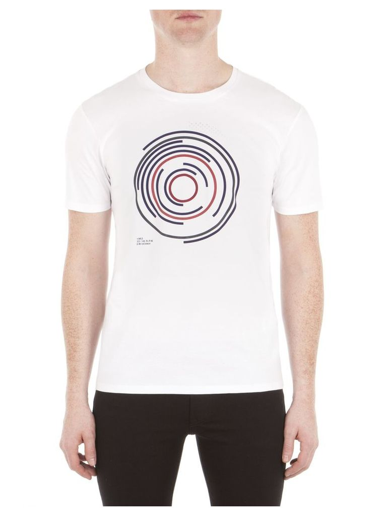 Target Record T-Shirt XXL A47 Bright White