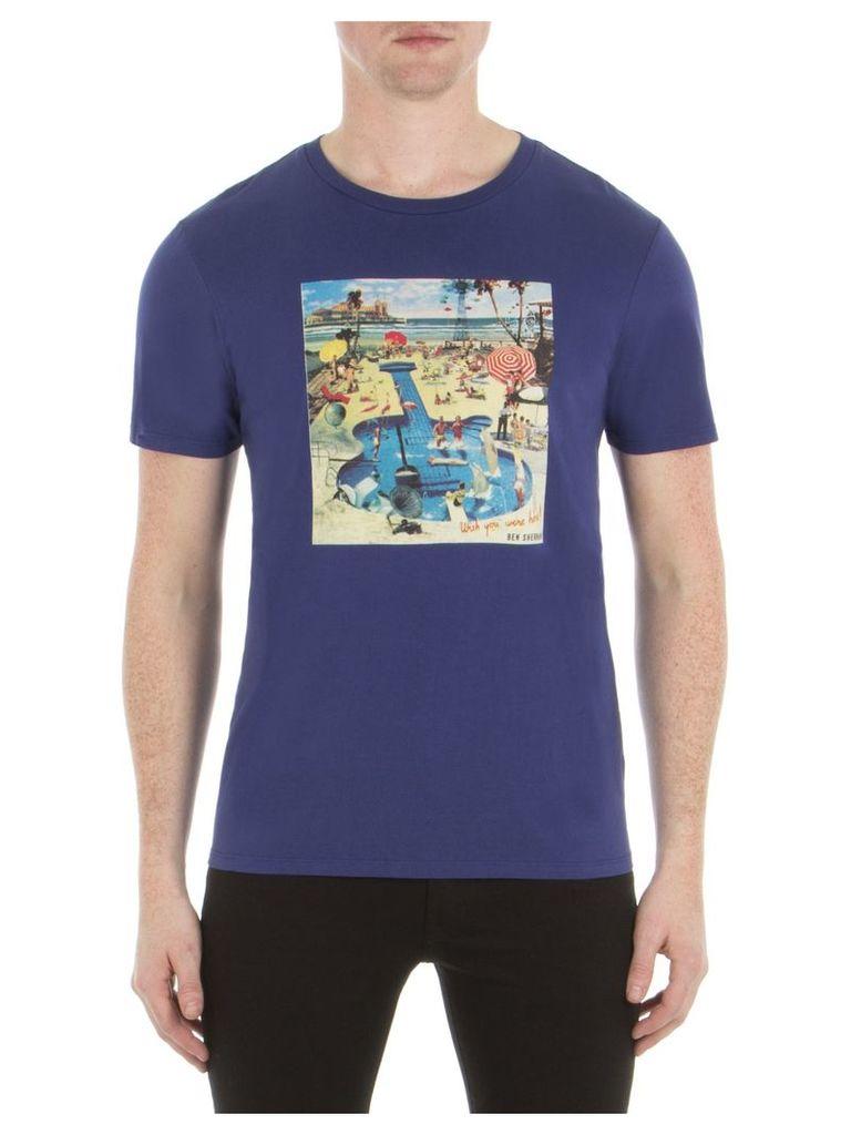 Pool Party T-Shirt XXS EP7 Admiral Blue