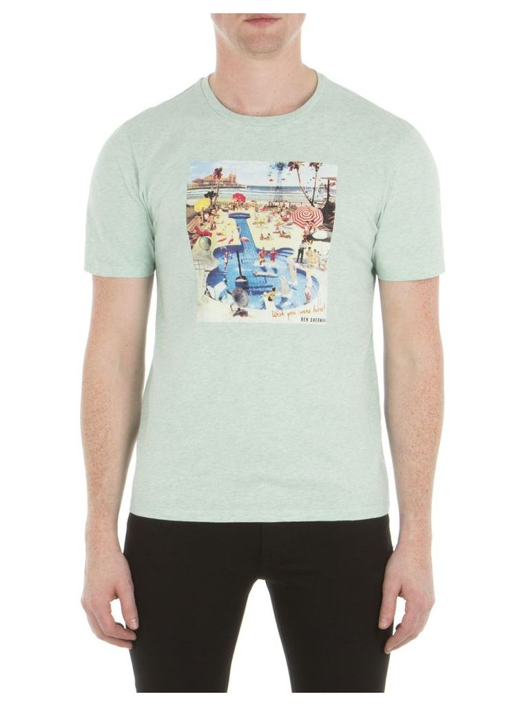 Pool Party T-Shirt XXS 879 Mint Marl