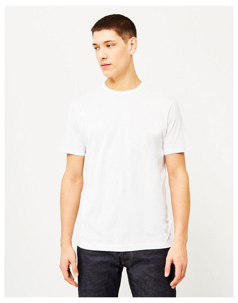 Sunspel Q82 Short Sleeve T-Shirt White