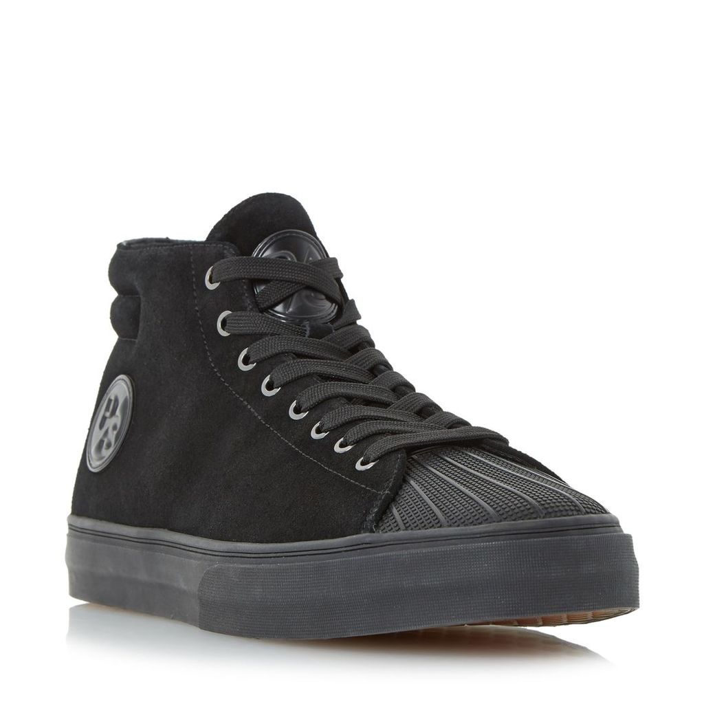 PS By Paul Smith Mcghee suede high top trainers, Black