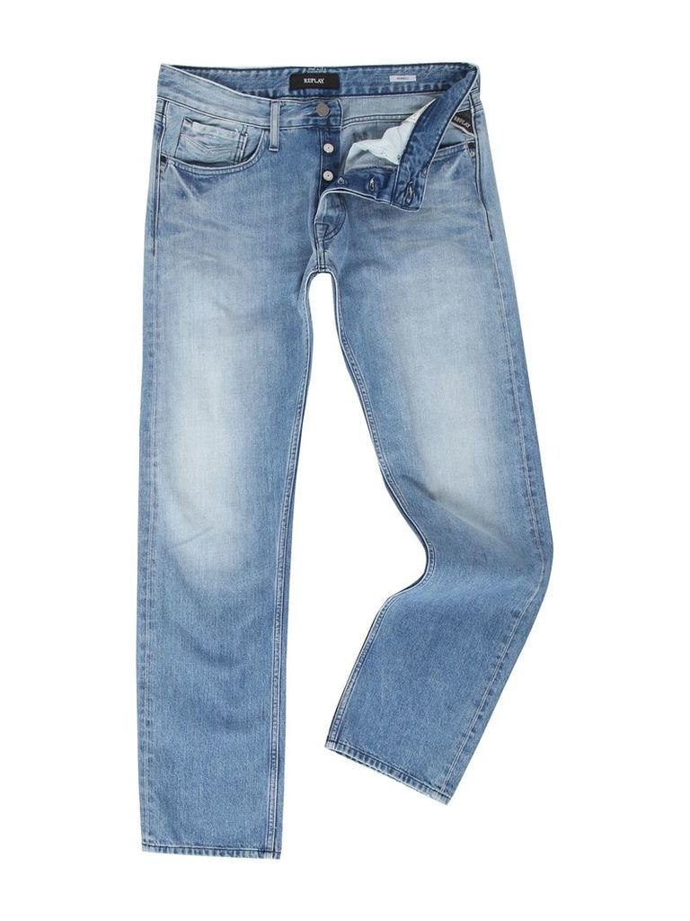 Men's Replay Newbill comfort-fit jeans, Blue