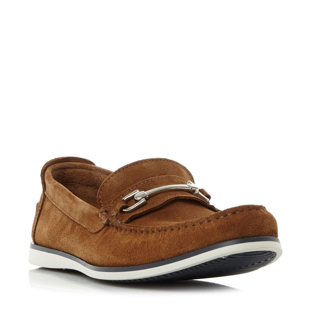 Dune Bronn casual snaffle loafer, Tan