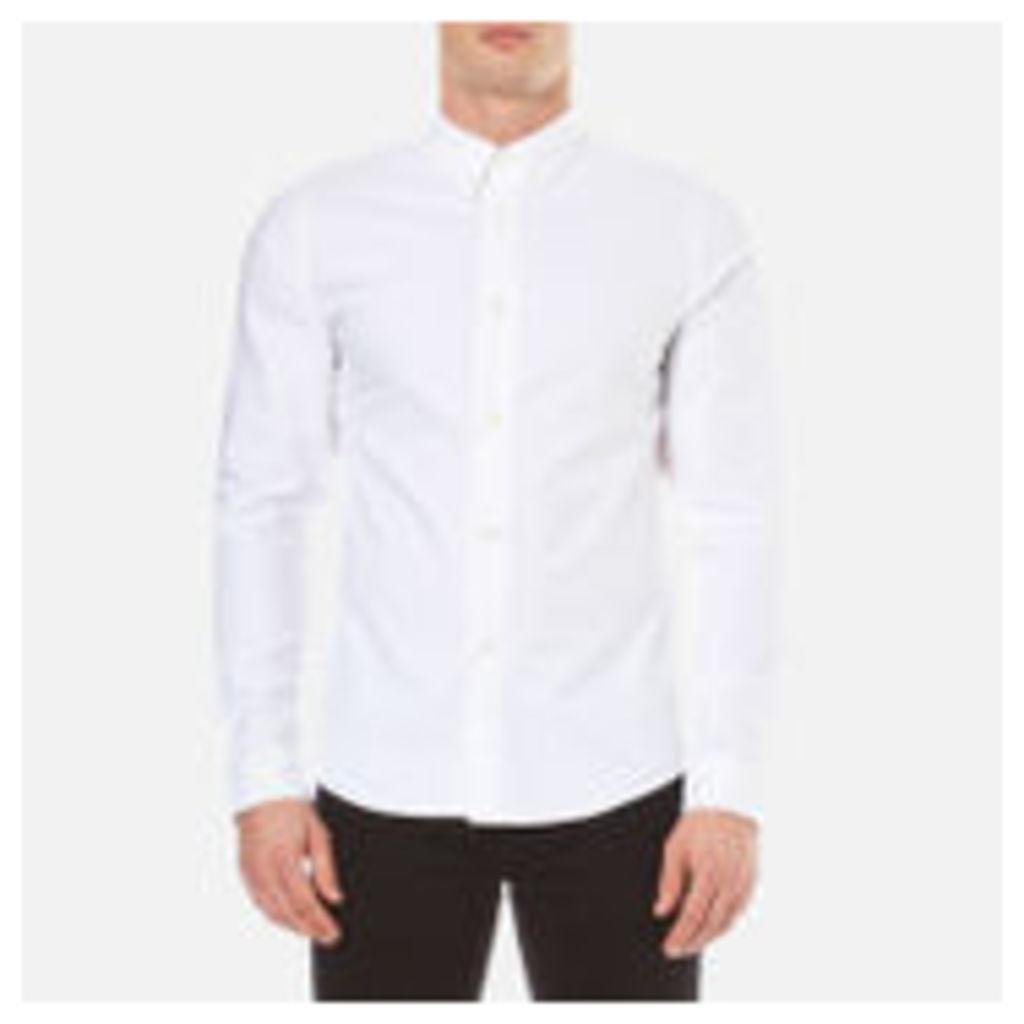 A.P.C. Men's Chemise Button Down Shirt - Blanc - XXL