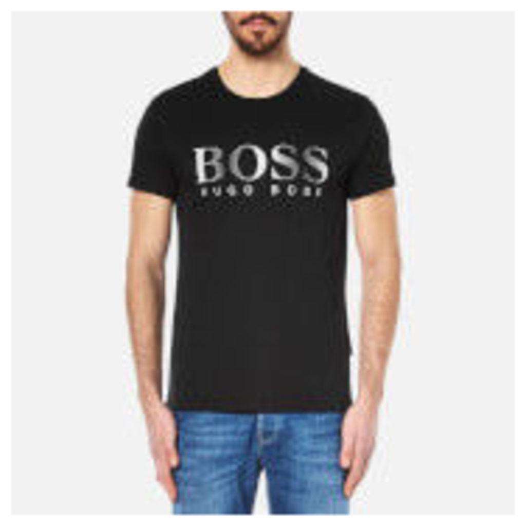 BOSS Hugo Boss Men's Large Logo T-Shirt - Black - L