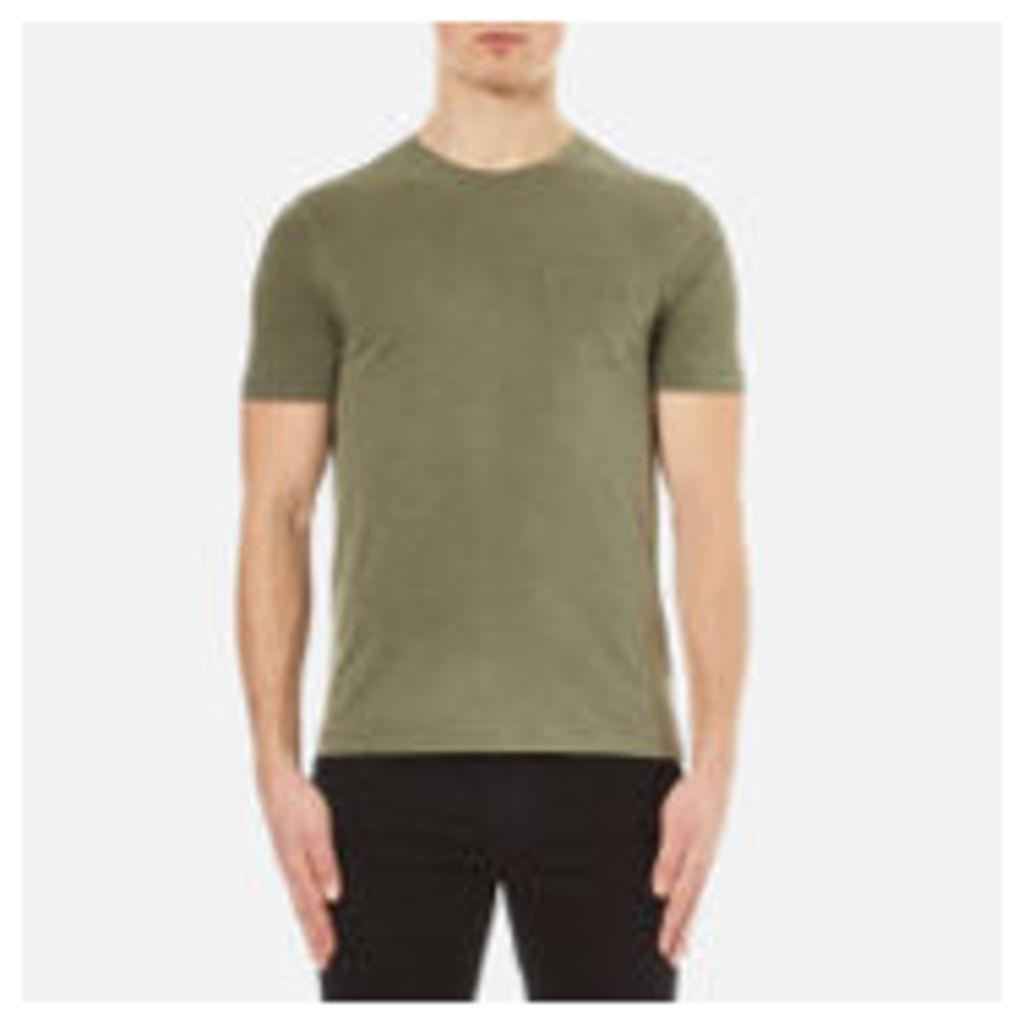 YMC Men's Wild Ones Pocket T-Shirt - Olive - L
