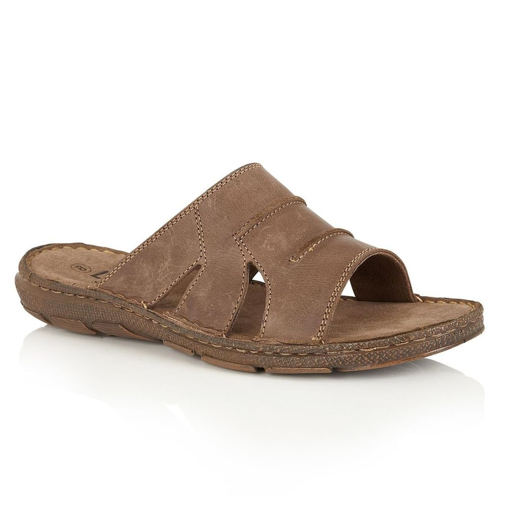 Lotus Campbell slip on sandals, Brown