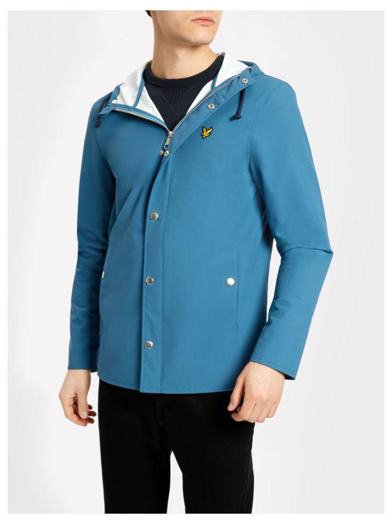 Lyle & Scott Zip Front Raincoat