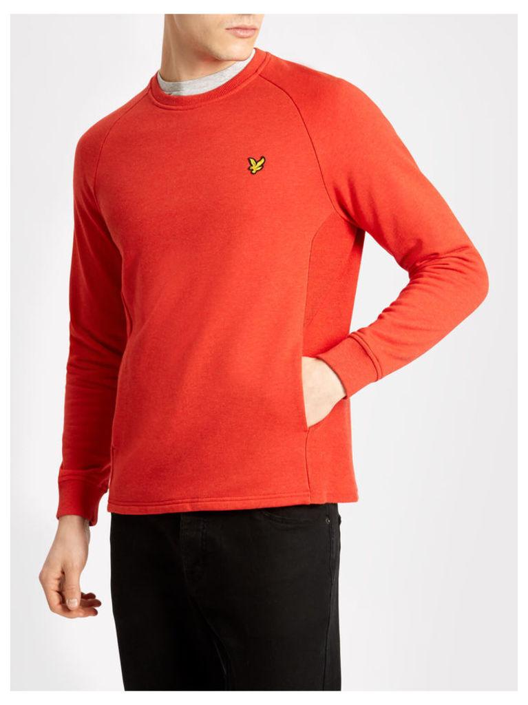 Lyle & Scott Crew Neck Pocket Sweatshirt